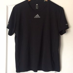 Black Adidas Climalite Shirt